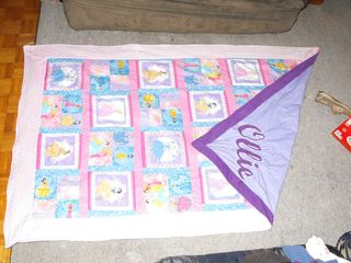 front patchwork princess, with corner folded